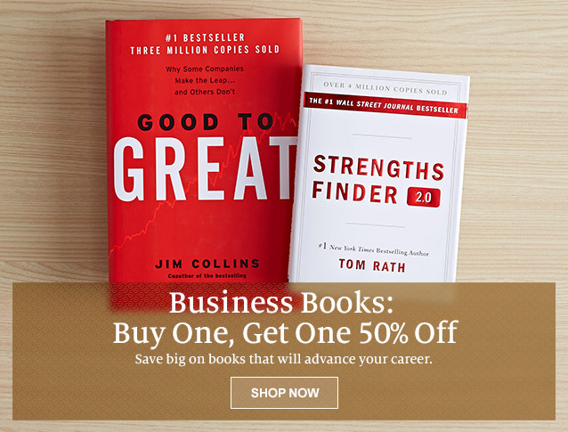 Business Books: Buy One, Get One 50% Off. Save big on books that will advance your career. SHOP NOW