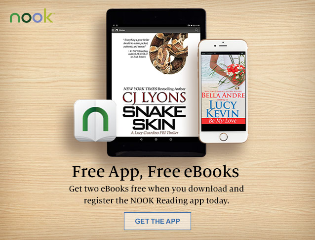 Free App, Free eBooks. Get two eBooks free when you download and register the NOOK Reading app today. GET THE APP
