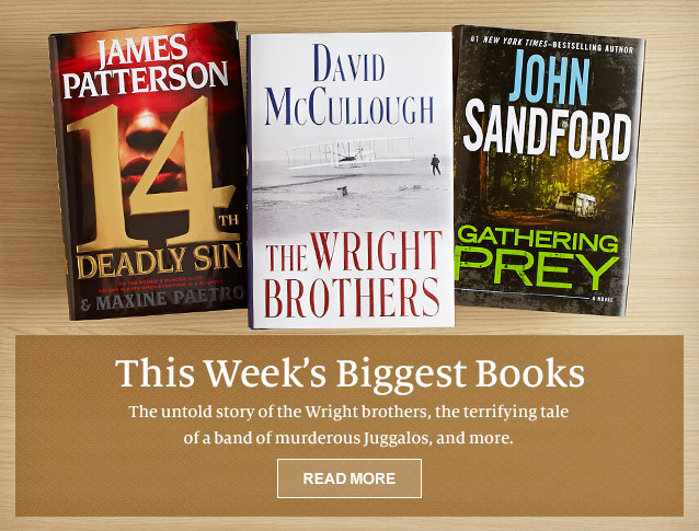 This Week's Biggest Books. The untold story of the Wright brothers, the terrifying tale of a band of murderous Juggalos, and more. READ MORE