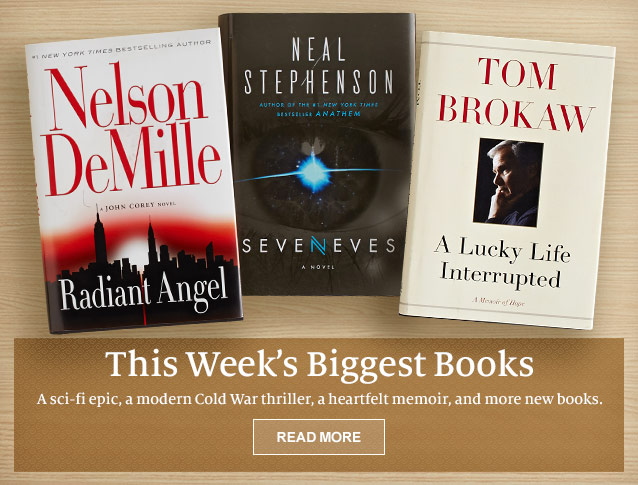 This Week's Biggest Book - A sci-fi epic, a modern Cold War thriller, a heartfelt memoir, and more new books. READ MORE