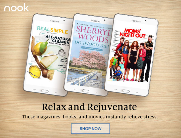 Relax and Rejuventate. These magazines, books, and movies instantly relieve stress. SHOP NOW