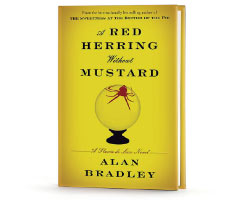 Book Cover Image. Title: A Red Herring without Mustard (Flavia de Luce Series #3), Author: Alan Bradley.