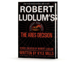 Book Cover Image. Title: Robert Ludlum's The Ares Decision (Covert-One Series #8), Author: Robert Ludlum.