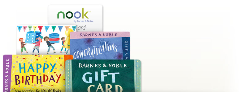 Barnes & Noble Gift Card Program Terms and Conditions. Your use or purchase of a Barnes & Noble branded Gift Card, eGiftCard, Gift Certificate or other stored value product (collectively,