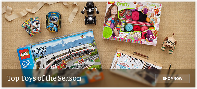 Top Toys of the Season. Great gifts for kids of all ages. SHOP NOW
