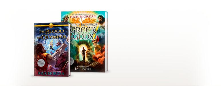 The Blood of Olympus; Percy Jackson's Greek Gods