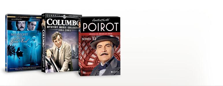 Midnight in the Garden of Good & Evil; Columbo: Mystery Movie Collection - 1994-2003; Poirot