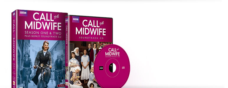 Call the Midwife: Season One & Two plus Bonus Soundtrack CD
