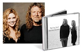 CD Cover Image. Title: Raising Sand, Artist: Robert Plant.