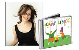 CD Cover Image. Title: Camp Lisa [Barnes & Noble Exclusive], Artist: Lisa Loeb.