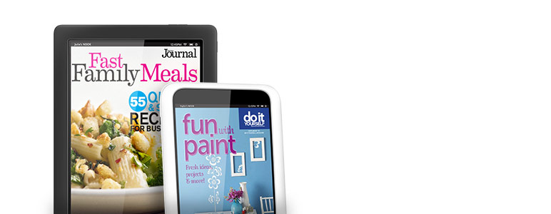Subscribe to select titles and get two special issues FREE--Fast Family Meals and Fun with Paint.