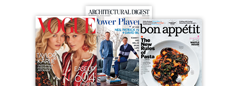 Get the March 2015, 2014, and 2013 issues all bundled at one low price. Choose from Bon Appetit, Architectural Digest, or Vogue bundles today.