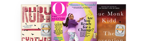 Ruby; The Oprah Magazine; The Invention of Wings
