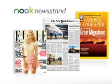 NOOKcolor Features - nook newsstand