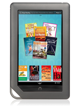 Barnes & Noble unveils color Nook with touchscreen