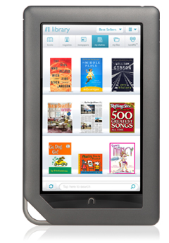 Novo Nook com tela colorida