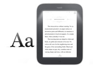 NOOK Simple Touch with GlowLite - Specs - E Ink