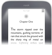 NOOK Simple Touch with GlowLight - Reading Screen