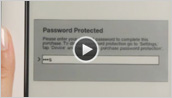NOOK 1st Edition - Password Protection