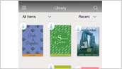 Reading App - Library