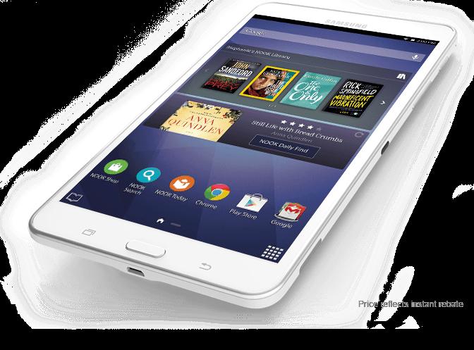 Samsung Galaxy Tab(R) 4 NOOK(R) 7.0