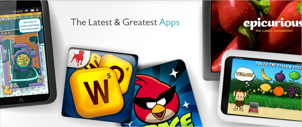 The Latest &amp; Greatest Apps
