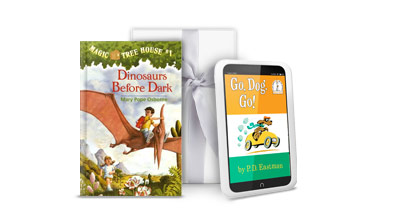 NOOK Kids' books make wonderful instant gifts.