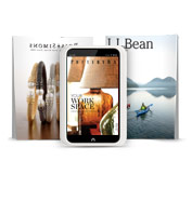 Eye-catching catalogs on NOOK HD