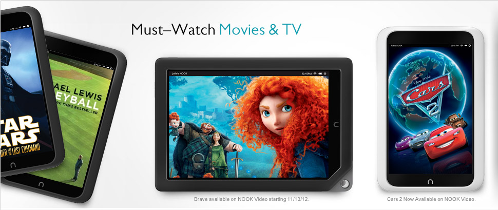 Must-Watch Movies and TV on NOOK