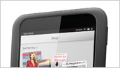 NOOK HD Shop Screen