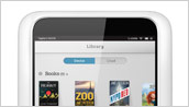 NOOK HD Library Screen