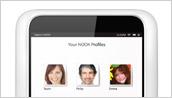NOOK Profiles on NOOK HD