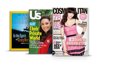Incredible selection of digital magazines on NOOK