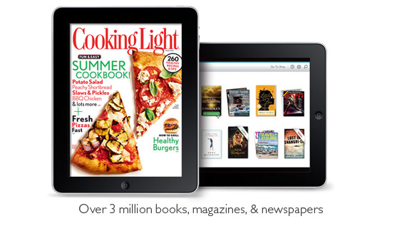 NOOK Reaing App on iPad