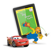 Kids' stories, games and learning on NOOK HD+