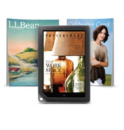 Eye-catching catalogs on NOOK HD+