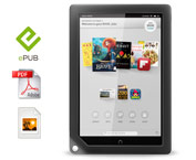 NOOK HD+ supports multiple file types