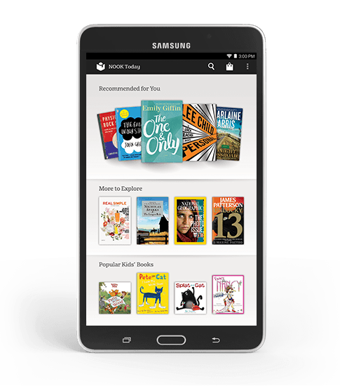 Samsung Galaxy Tab 4 NOOK - Only From NOOK