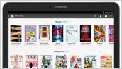 Samsung Galaxy Tab(R) 4 NOOK(R) 10.1 - Front (Library)