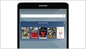 Samsung Galaxy Tab S2 NOOK - Home