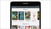 Samsung Galaxy Tab S2 NOOK - Library