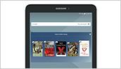 Samsung Galaxy Tab E NOOK - Home