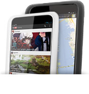 NOOK HD Maps & Gmail