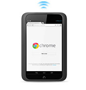 NOOK HD Chrome