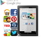 NOOK HD+ Google play