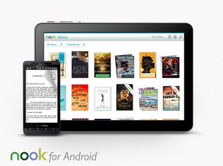 NOOK for Android - Hero