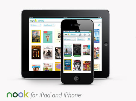 NOOK for iPad and iPhone