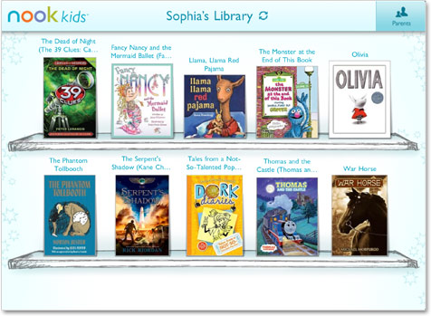 NOOK Kids for iPad - Screen 1