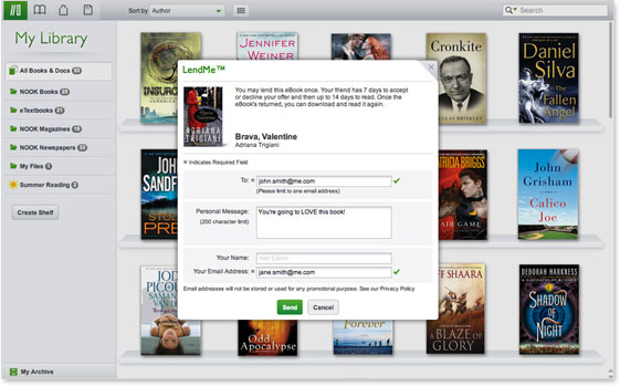 NOOK Reading Apps - Screenshot - Mac