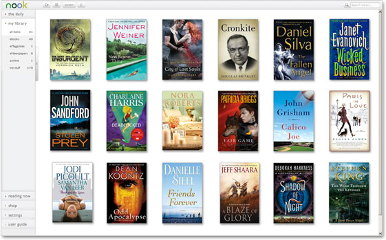 NOOK Reading Apps - Screenshot - PC